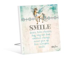 Sentiment Plaque 12x15 Pegasus SMILE