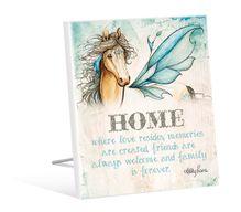 Sentiment Plaque 12x15 Pegasus HOME