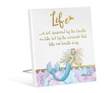Sentiment Plaque 12x15 Mermaid LIFE