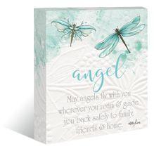 "Canvas ""13x15"" Damselflies ANGEL"