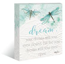 "Canvas ""13x15"" Damselflies DREAM"