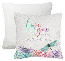 Cushion 45x45 Damselflies MOON