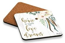 Coaster S/6 10x10 Boho Luxe DREAMS