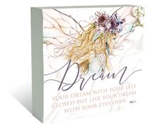 Plaque Block 40x40 Boho Fairy DREAM