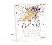 Sentiment 12x15 3D Boho Fairy FRIENDS
