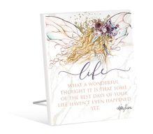 Sentiment 12x15 3D Boho Fairy LIFE