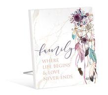 Sentiment 12x15 3D Boho Fairy FAMILY