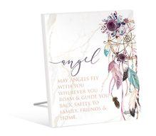 Sentiment 12x15 3D Boho Fairy ANGEL