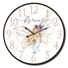 Clock 34cm Boho Fairy DREAMS