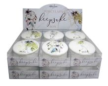 Porcelain Keepsake Box 12pc Boho Fairy