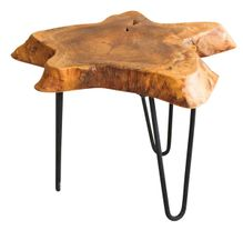 Side Table Beeswaxed 50x40x25