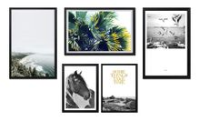 Framed Prints Set of 5 MODERN