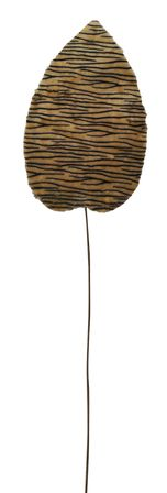 Faux Leaf 30x112 Tiger