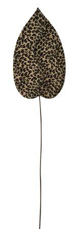 Faux Leaf 30x112 Leopard