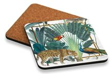 Coaster S/6 10x10cm St Barts JUNGLE