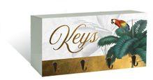 Key Hook 10x20 3D St Barts KEYS