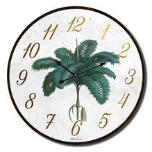 Clock 34cm St Barts PALM