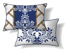 Cushion 30x50 Chippendale PATTERN
