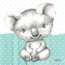 Canvas 20x20 Baby Joeys KOALA