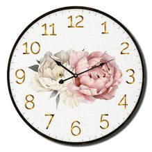 Clock 22cm Vogue PEONY