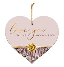Sentiment Heart 15x17 3D Vogue MOON