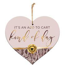 Sentiment Heart 15x17 3D Vogue CART