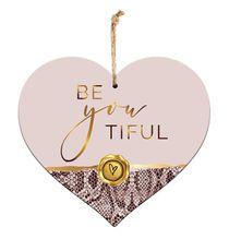 Sentiment Heart 15x17 3D Vogue BEAUTIFUL