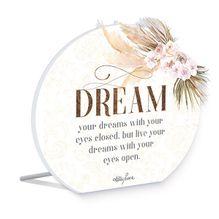 Sentiment Plaque 14x16 3D Bismark DREAM