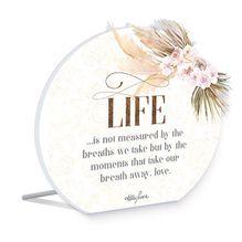 Sentiment Plaque 14x16 3D Bismark LIFE