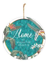 Hanging Tin Sign 30cm Lush HOME