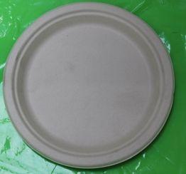 7inch  ROUND PLATE PULP BYP07 125/PAK 8PAKS/CTN
