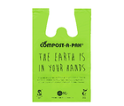 SINGLET BAGS  COMPOSTABLE MEDIUM 50/PACK 10PAK/CTN