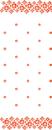 CASTAWAY TABLECLOTH  TILE RED 30M x 1.117M