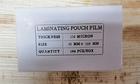 LAMINATING POUCHES 65x108 150mic 100/PAK