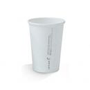 10oz PLA SINGLE WALL HOT CUP WHITE 50/PAK  20PAK/CTN