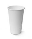 12oz PLA SINGLE WALL HOT CUP B/PAK WHITE 50/PAK  20PAK/CTN