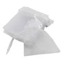 ORGANZA BAGS use code 40710 , white