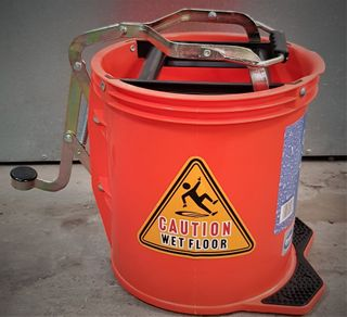 Wringer Mop Bucket Orange 16lt