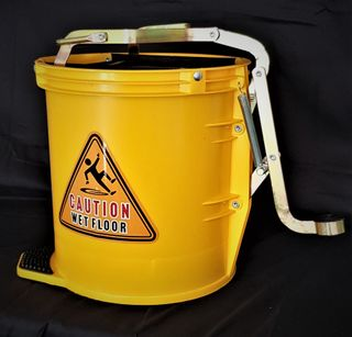 Wringer Mop Bucket Yellow 16lt
