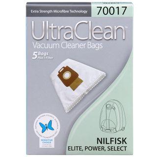 Nilfisk UltraClean Power P10 P20 P40 Vacuum Bags 5pk