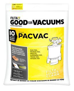 Pacvac Microfibre Vac Bags 10pk (61021)