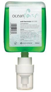 Ocean Foam Anti-Bacterial Hand Soap - 1000ml 6 refills/case