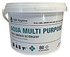 Aqua Multi Purpose Hard Surface Detergent 80/tub