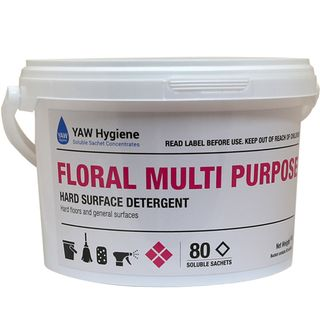 Floral Multi Purpose Hard Surface Detergent (80 / tub)