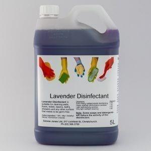 SJ Cleaner-Disinfectant Lavender - 5L (1.6%)