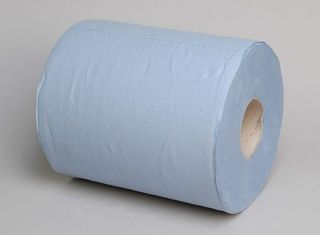 Blue Centrefeed 1Ply Paper Towel 320m