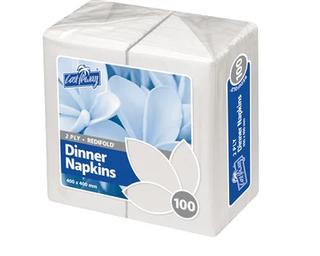 2 Ply Dinner Napkins | RediFold® | White (1000 per carton)
