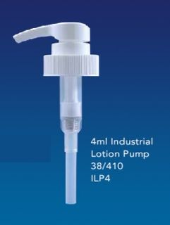 Industrial Lotion Pump 4ml dose 38/410 neck size
