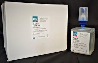 HD Alcohol Hand Gel Sanitizer Cartridge 1ltr DG 3