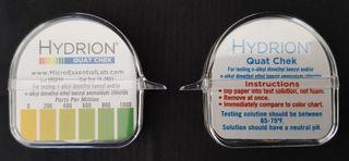 Hydrion Quat 0-100ppm Test Kit 4.5m